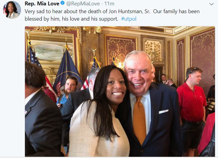 Jon Huntsman Sr. dies at 80