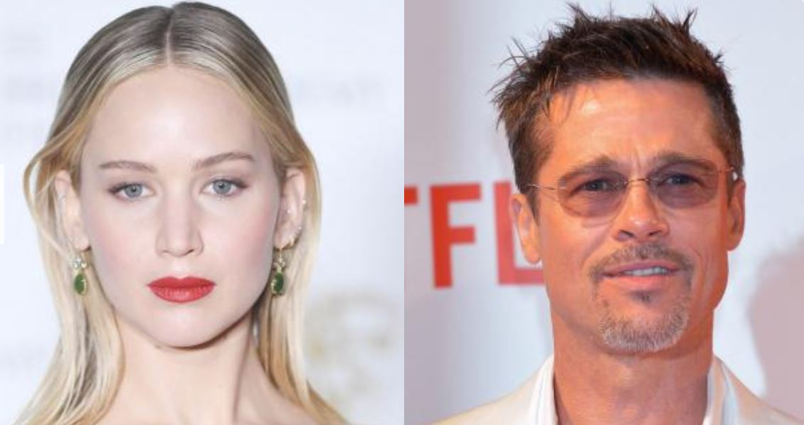 Jennifer Lawrence Did NOT Mind Those 'Random' Brad Pitt Dating Rumors!