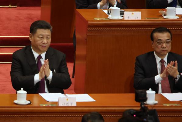 China parliament gives Li 2nd term