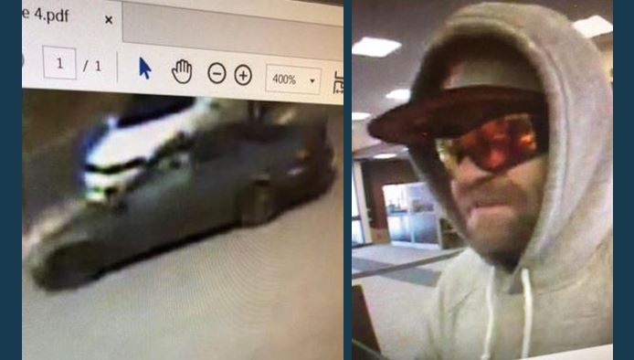 Lexington police respond to bank robbery