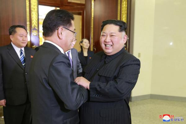 Kim meeting only if N Korea fulfills promises: White House