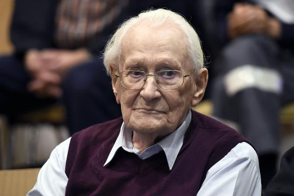 'Bookkeeper of Auschwitz' Oskar Groening dies at age of 96