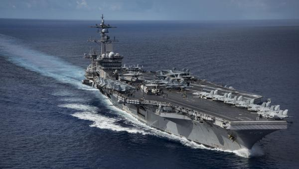United States  aircraft carrier Carl Vinson in historic Vietnam visit