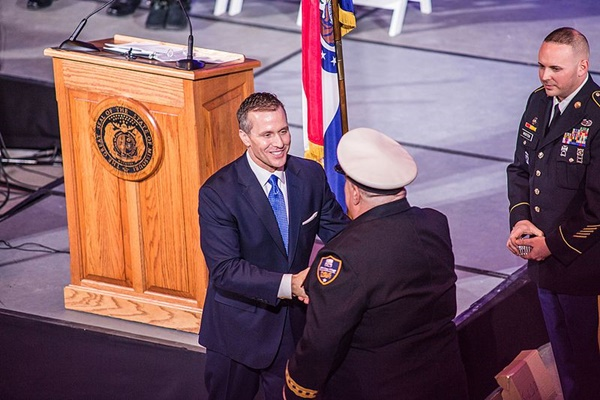 Missouri governor charged with felony computer data tampering