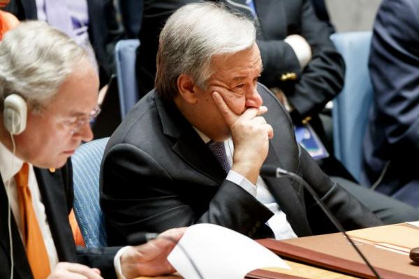 """The Cold War is back"" : UN's Secretary General, Antonio Guterres"