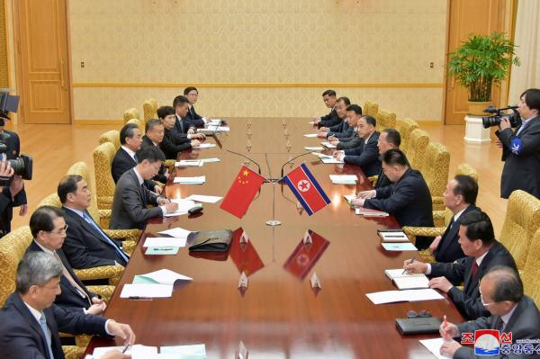 China's foreign minister in N. Korea on rare visit