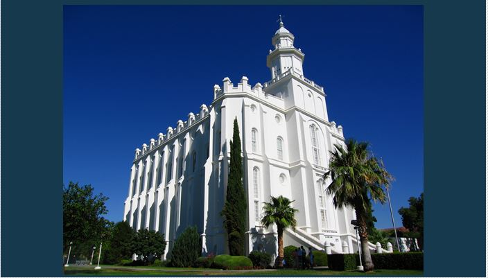 Man arrested for breaking into St. George LDS Temple