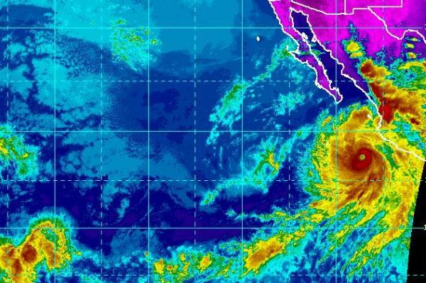 Hurricane Bud forms in Pacific west of Mexico