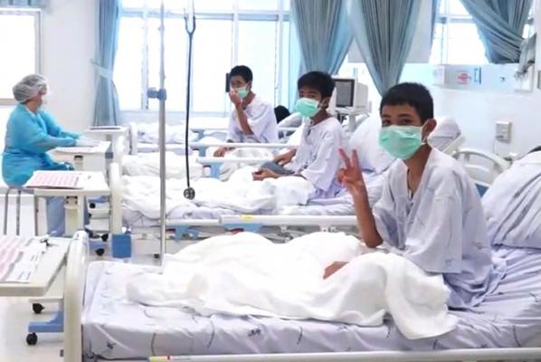 Thai boys rescued from flooded cave will leave hospital on Thursday