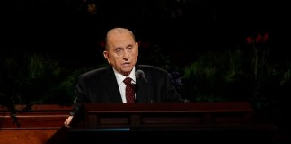 Thomas Monson, president of the Church of Jesus Christ of Latter-day Saints