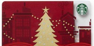 Starbucks Christmas Card
