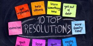 New Year's Top Ten Resolutions