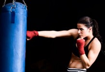 Female Boxer Glitter Gloves