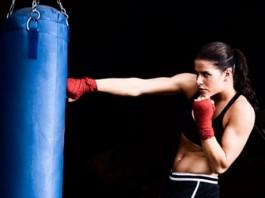 Female Boxer Glitter Gloves