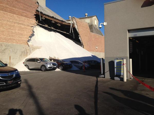 Morton Factory Wall Collapses
