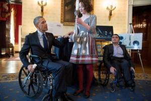 Obama wheelchair