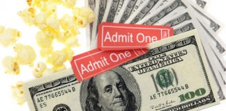 Admit One One Hundred Dollar Bill