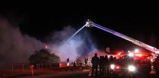 House fire in Enoch