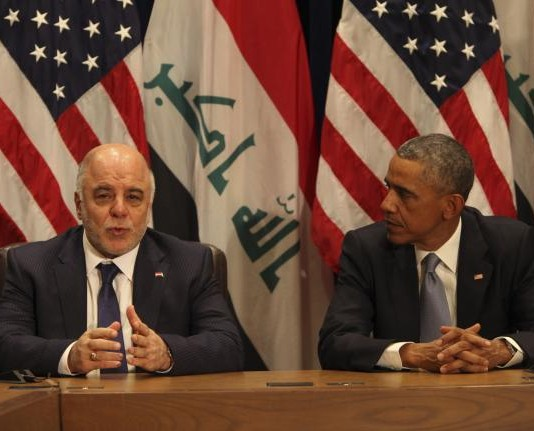 Iraqi Prime Minister Meeting with President Obama