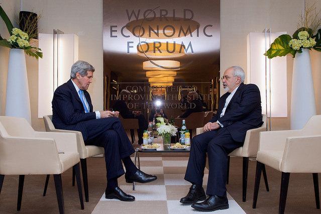John Kerry abd Mohammad Javad Zarif