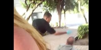 Officer Slaps Homeless Man Fort Lauderdale