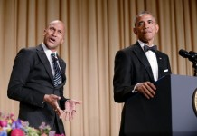 President Barack Obama and Keegan Key