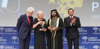Global Teacher Prize winner Nancie Attwell