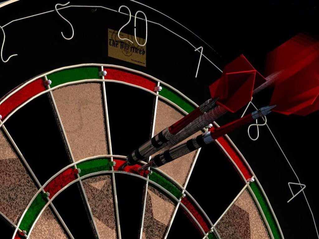 a darts champion who s legally blind