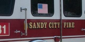 sandy city fire
