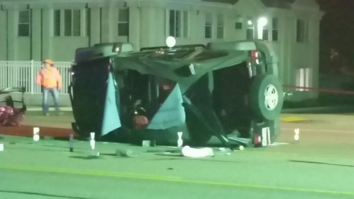 Hillcrest High Teens Sandy Crashed