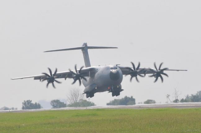 The A400M military transport