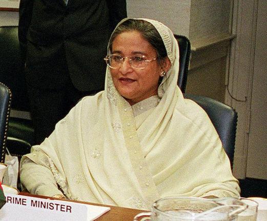 Bangladeshi Prime minister Shiekh Hasina
