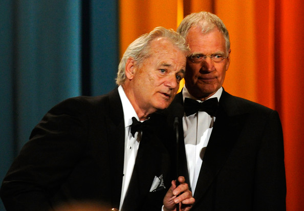 Bill Murray & David Letterman