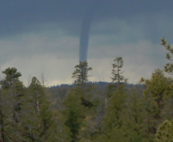 Funnel Cloud Sighted In Bryce Canyon