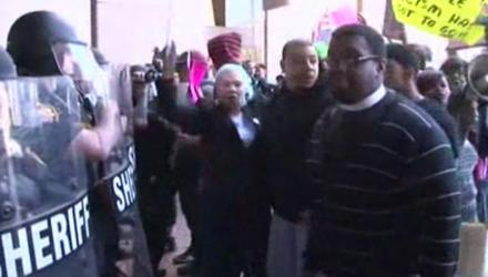 Michael Brelo Protests