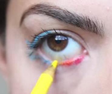 Using Colored Pencils as Makeup