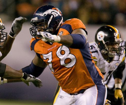 Denver Broncos' Clady