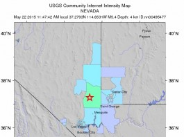 Earthquake Nevada Utah