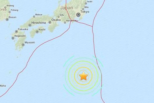 Earthquake Rattles Japan's Coast