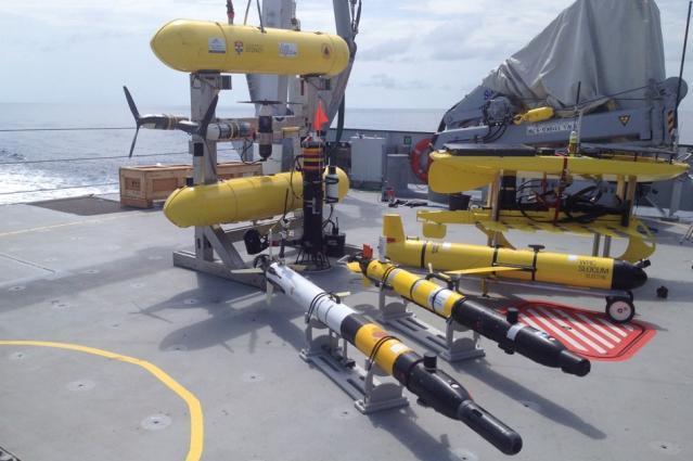Engineers Empower Underwater Robots