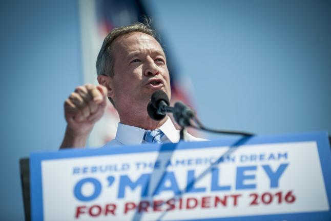 Martin O'Malley Announces 2016 Presidential Bid