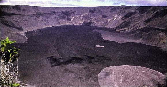 Galapagos Island Volcano Erupts