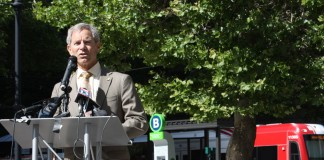 Mayor Becker Joins World Leaders