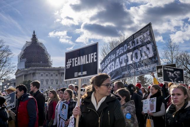 Abortion Ban Legislation Protesters