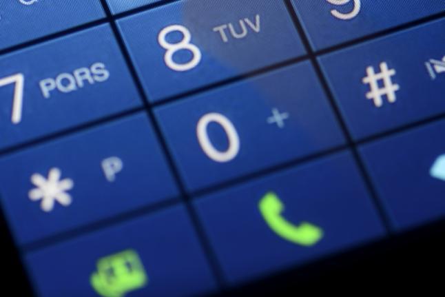 Phone Dial Screen