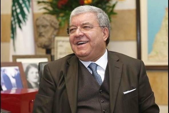 Lebanese Interior Minister Nohad Machnouk