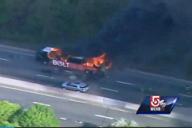 Massachusetts Turnpike Bus Explosion