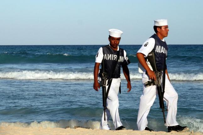 Mexican Marine Soldiers