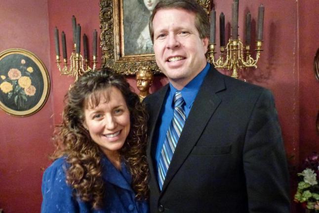 Michelle and Jim Bob Duggar. TLC