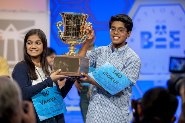 Spelling Bee Ends in Tie